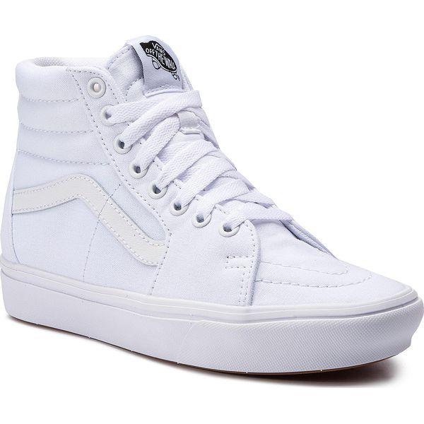 Sneakersy VANS Comfycush Sk8 Hi VN0A3WMBVNG1 (Classic) True WhiteTrue
