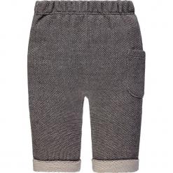 Spodnie w kolorze szarym. Szare spodnie materiałowe dla dziewczynek bellybutton, z bawełny. W wyprzedaży za 42.95 zł.
