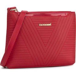 Torebka MONNARI - BAGA022-005 Red. Czerwone listonoszki damskie Monnari, ze skóry ekologicznej. W wyprzedaży za 119.00 zł.