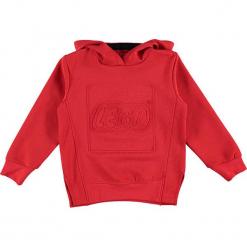 """Bluza """"Sebastian 719"""" w kolorze czerwonym. Zielone bluzy dla chłopców marki Lego Wear Fashion, z bawełny, z długim rękawem. W wyprzedaży za 92.95 zł."""