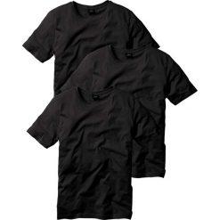 T-shirt (3 szt.) bonprix czarny + czarny + czarny. T-shirty męskie marki Giacomo Conti. Za 68.97 zł.