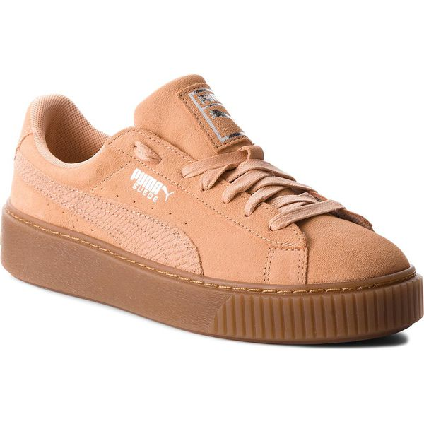 317490d5 Sneakersy PUMA - Suede Platform Animal 365109 Dusty Coral/Puma ...