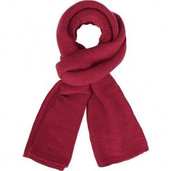 """Szal """"Mopli"""" w kolorze czerwonym - 280 x 80 cm. Czerwone szaliki i chusty damskie Scottage, z materiału. W wyprzedaży za 40.95 zł."""