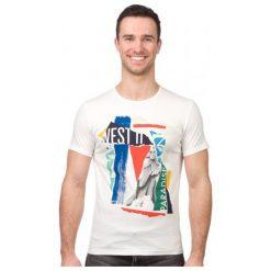 Pepe Jeans T-Shirt Męski Kwesi Xxl Kremowy. Białe t-shirty męskie Pepe Jeans, z jeansu. W wyprzedaży za 108.00 zł.