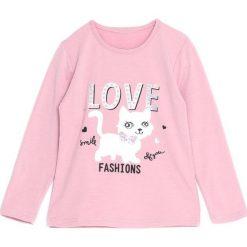 Jasnoróżowa Bluzka Pink Peony. Różowe bluzki dla dziewczynek Born2be. Za 29.99 zł.
