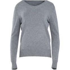Szary Sweter Just A Drop. Szare swetry damskie Born2be, z dzianiny, z dekoltem w serek. Za 59.99 zł.
