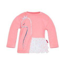 2Be3 Koszulka Dziewczęca Z Łabędziem I Falbankami 68 Różowa. Czerwone bluzki dla dziewczynek 2Be3, z falbankami. Za 35.00 zł.
