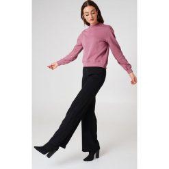 NA-KD Basic Bluza basic - Pink. Różowe bluzy damskie NA-KD Basic, z dresówki. Za 100.95 zł.