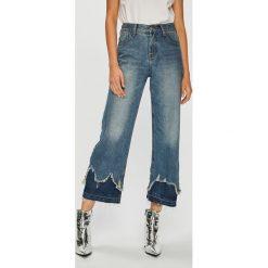 Answear - Jeansy. Niebieskie jeansy damskie ANSWEAR. W wyprzedaży za 114.90 zł.