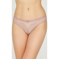 Triumph - Stringi. Różowe stringi damskie Triumph, z elastanu. Za 79.90 zł.