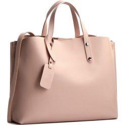 Torebka CREOLE - K10220 Różowy. Czerwone torebki do ręki damskie Creole, ze skóry. W wyprzedaży za 229.00 zł.