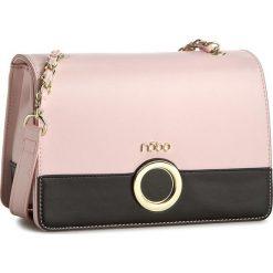 Torebka NOBO - NBAG-C0580-C004 Różowy z Czarnym. Czerwone torebki do ręki damskie Nobo, ze skóry ekologicznej. W wyprzedaży za 139.00 zł.