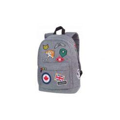 Plecak Coolpack Cross Z Naszywkami Szary. Szare torby i plecaki dziecięce CoolPack, z materiału. Za 84.50 zł.