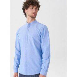 Koszula z bawełny oxford - Niebieski. Niebieskie koszule męskie House, z bawełny. Za 79.99 zł.