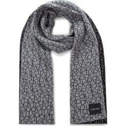 Szal CALVIN KLEIN - Ck Knitted Scarf W K60K604721 013. Czarne szaliki i chusty damskie Calvin Klein, z bawełny. Za 279.00 zł.