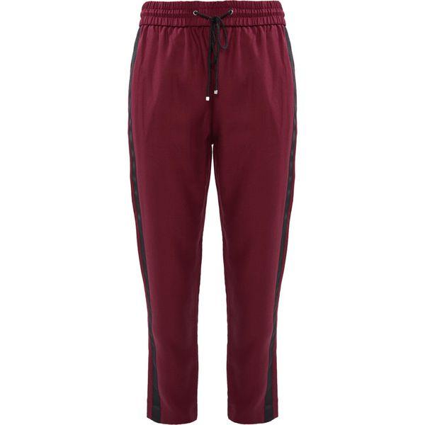 a70d7a5166014 BOSS CASUAL SOGGIE Spodnie materiałowe dark red - Spodnie ...