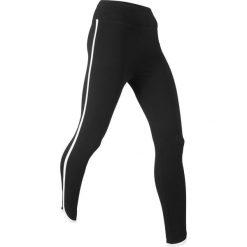 Legginsy sportowe ze stretchem, dł. 7/8, Level 1 bonprix czarny. Legginsy damskie marki DOMYOS. Za 49.99 zł.