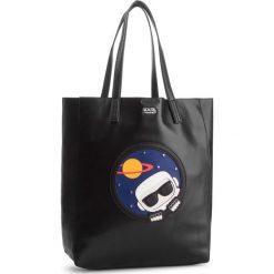 Torebka KARL LAGERFELD - K/Space Soft Shopper 86KW3103  Black 999. Czarne torebki shopper damskie KARL LAGERFELD, ze skóry. Za 889.00 zł.