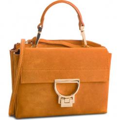 Torebka COCCINELLE - DD6 Arlettis Suede E1 DD6 55 B7 01 Flash Orange R12. Brązowe torebki do ręki damskie Coccinelle, ze skóry. Za 1,149.90 zł.