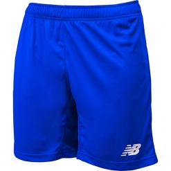 Spodenki treningowe EMS6130TRY. Niebieskie krótkie spodenki sportowe męskie New Balance, z materiału. Za 79.99 zł.