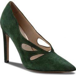 Szpilki EVA MINGE - Mataro 18BL1372455ES 215. Zielone szpilki damskie Eva Minge, z materiału. W wyprzedaży za 299.00 zł.