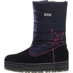 """Kozaki zimowe """"Diran"""" w kolorze granatowym. Buty zimowe dziewczęce Zimowe obuwie dla dzieci. W wyprzedaży za 237.95 zł."""