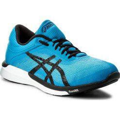 Buty ASICS - FuzeX Rush T718N Aqua Splash/Black/Diva Blue 6790. Niebieskie buty sportowe męskie Asics, z materiału. W wyprzedaży za 319.00 zł.