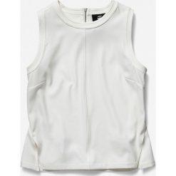 Levi's - Koszula. Szare koszule damskie G-Star Raw, w paski, z bawełny, casualowe, z klasycznym kołnierzykiem, z krótkim rękawem. Za 369.90 zł.