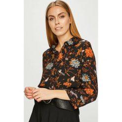 Silvian Heach - Koszula. Szare koszule damskie Silvian Heach, z materiału, klasyczne, z klasycznym kołnierzykiem, z długim rękawem. W wyprzedaży za 229.90 zł.