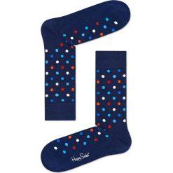Happy Socks - Skarpety Dot. Niebieskie skarpety męskie Happy Socks. Za 39.90 zł.