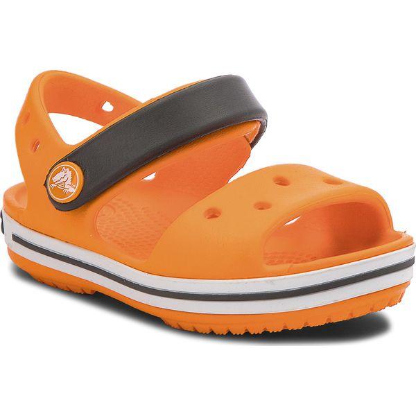 9e6614a6596cb Sandały CROCS - Crocband Sandal Kids 12856 Blazing Orange/Slate Grey ...