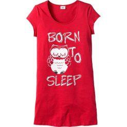 Koszula nocna bonprix truskawkowy - sowa. Koszule nocne damskie marki MAKE ME BIO. Za 29.99 zł.