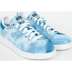 Adidas Originals - Buty Pharrell Williams Hu Holi Stan Smith. Szare buty sportowe męskie adidas Originals, z gumy. W wyprzedaży za 299.90 zł.