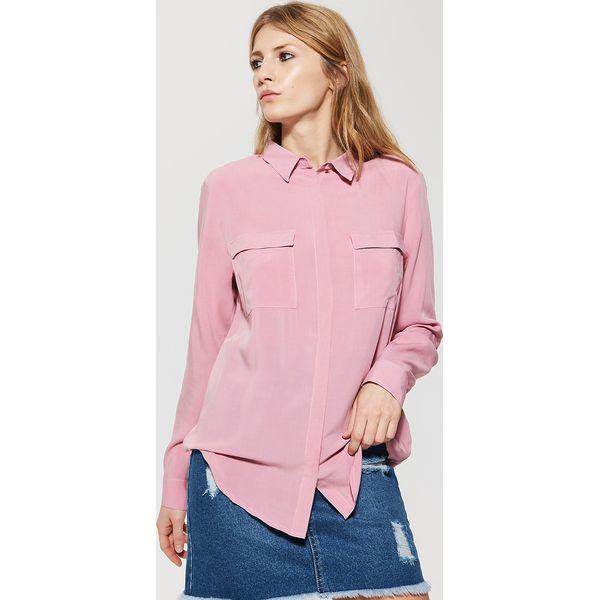 274cceb0a75a6f Gładka koszula - Różowy - Koszule damskie House. W wyprzedaży za ...