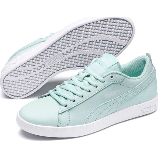Puma Smash Wns v2 L Fair Aqua White 41