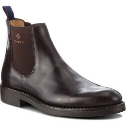Sztyblety GANT - Oscar 17651904 Dark Brown G46. Botki męskie marki Giacomo Conti. W wyprzedaży za 439.00 zł.