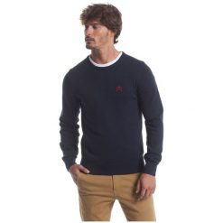Polo Club C.H..A Sweter Męski Xl Ciemnoniebieski. Czarne swetry przez głowę męskie Polo Club C.H..A, z okrągłym kołnierzem. W wyprzedaży za 239.00 zł.