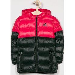 Adidas Performance - Kurtka dziecięca 116-170 cm. Czarne kurtki i płaszcze dla dziewczynek adidas Performance, z poliesteru. Za 279.90 zł.