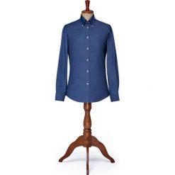 Koszula Granatowa Boulevard. Szare koszule męskie LANCERTO, z bawełny, button down. Za 299.00 zł.