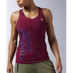 Reebok Koszulka damska treningowa CrossFit Strength W bordowa r. L (AX9703). T-shirty damskie Reebok. Za 129.69 zł.