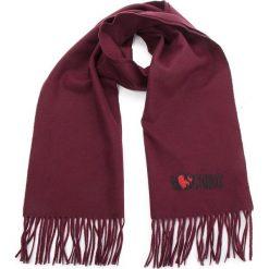 Szal MOSCHINO - 30578 M1877 010. Czerwone szaliki i chusty damskie MOSCHINO, z materiału. Za 409.00 zł.
