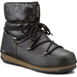 Śniegowce MOON BOOT - Low Nylon 24006200001 Wp Nero/Bronzo. Czarne śniegowce i trapery damskie Moon Boot, z materiału. Za 559.00 zł.