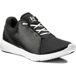 Buty UNDER ARMOUR - Ua W Squad 1296212-001 Blk/Wht/Wht. Czarne obuwie sportowe damskie Under Armour, z materiału. W wyprzedaży za 169.00 zł.