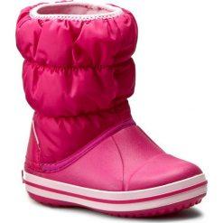 Śniegowce CROCS - Winter Puff Boot Kids 14613 Candy Pink. Buty zimowe dziewczęce marki bonprix. W wyprzedaży za 139.00 zł.