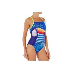 Strój jednoczęściowy pływacki Lidia Toucan damski. Niebieskie kostiumy jednoczęściowe damskie NABAIJI. W wyprzedaży za 59.99 zł.