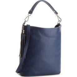 Torebka CREOLE - K10489 Granat. Niebieskie torebki do ręki damskie Creole, ze skóry. W wyprzedaży za 179.00 zł.