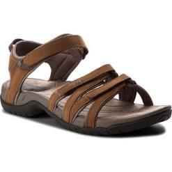 Sandały TEVA - Tirra Leather 4177 Rust. Brązowe sandały damskie Teva, z materiału. W wyprzedaży za 269.00 zł.