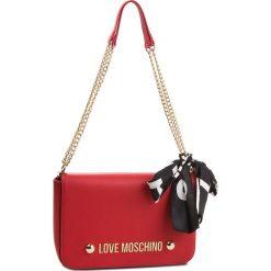 Torebka LOVE MOSCHINO - JC4314PP06KU0500 Rosso. Czerwone torebki do ręki damskie Love Moschino, ze skóry ekologicznej. Za 779.00 zł.