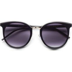 Okulary przeciwsłoneczne bonprix czarny - złoty kolor. Okulary przeciwsłoneczne damskie marki QUECHUA. Za 34.99 zł.