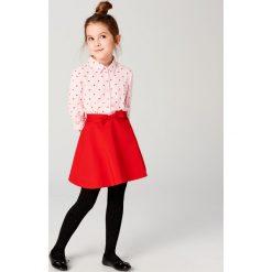 Rozkloszowana spódnica z kokardką little princess - Czerwony. Spódniczki dla dziewczynek Mohito. W wyprzedaży za 39.99 zł.